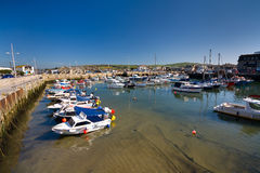 Zachodnia zatoka, Dorset, UK fotografia royalty free