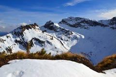 Zachodnie Kaukaz góry Zdjęcie Stock