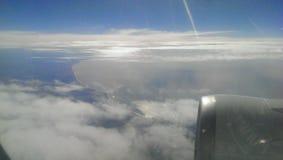 Zachodnie wybrzeże od samolotu Zdjęcia Royalty Free