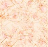 Zacht Bloemenbehang vector illustratie
