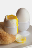 Zacht-Boled eieren Royalty-vrije Stock Foto's
