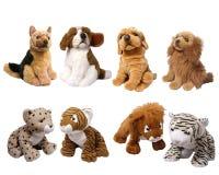 Zacht dierlijk speelgoed royalty-vrije stock fotografie