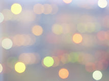 Zacht dromerig kleurrijk licht Royalty-vrije Stock Foto's