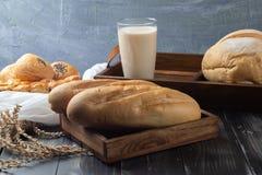 Zacht Frans baguettebrood royalty-vrije stock foto