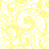 Zacht geel vectorbehang Royalty-vrije Stock Afbeeldingen