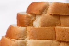 Zacht gesneden brood stock foto's