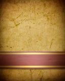 Zacht gouden bruin perkament Royalty-vrije Stock Foto