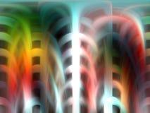 Zacht kleurrijk abstract ontwerp Stock Afbeeldingen