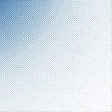 Zacht nadruk halftone blauw Stock Foto's