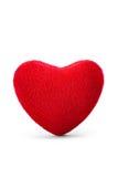 Zacht rood hart Royalty-vrije Stock Afbeelding
