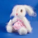 Zacht stuk speelgoed konijn Royalty-vrije Stock Afbeeldingen