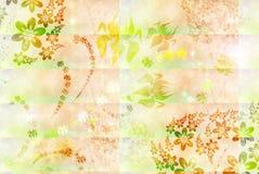 Zachte achtergrond met bloemen vector illustratie