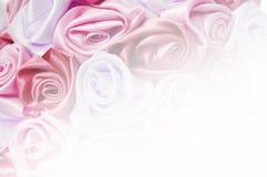 Zachte achtergrond van roze knoppen, één van een grote reeks bloemenachtergronden Royalty-vrije Stock Afbeeldingen