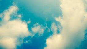 Zachte blauwe hemel Royalty-vrije Stock Afbeelding