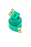 Zachte centimeterband royalty-vrije stock afbeelding