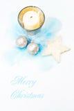 Zachte en gevoelige Kerstmis. Stock Afbeeldingen