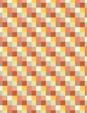 Zachte gekleurde vierkanten stock fotografie