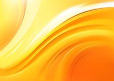 Zachte Gele achtergrond Royalty-vrije Stock Foto