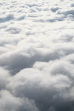 Zachte gezwollen witte gesponnen suikerwolken Royalty-vrije Stock Afbeeldingen