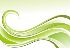 Zachte groene Aandrijving Stock Afbeelding