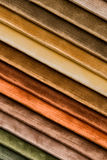 Zachte kleuren van fluweelstof Stock Afbeelding