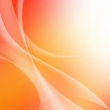 Zachte kleurrijke Gebogen Abstracte Achtergrond Royalty-vrije Stock Fotografie