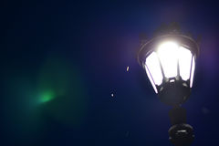 Zachte lamp Stock Foto