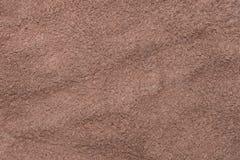 Zachte leer van het textuur het donkere bruine suède, fluweelstof, onderkant van de leeroppervlakte Royalty-vrije Stock Afbeelding