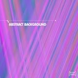 Zachte lilac strepen en stralen Vector abstracte achtergrond Royalty-vrije Stock Foto