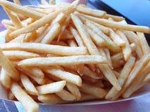 Zachte Nadruk van frieten als achtergrond stock foto