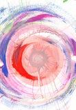 Zachte Pastelkleur Abstract Art Background royalty-vrije illustratie