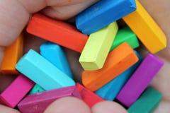 Zachte pastelkleur voor kunstenaars Stock Foto