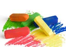 Zachte pastelkleuren Stock Foto