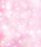 Zachte roze achtergrond Stock Afbeelding