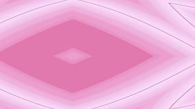 Zachte roze en witte gekleurde abstracte achtergrond met geometrische vormen en lijnen royalty-vrije illustratie
