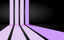 Zachte roze strepenachtergrond Stock Illustratie