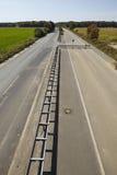 Zachte steenkool - vroeger Autobahn A4 dichtbij kerpen-Buir Stock Afbeeldingen