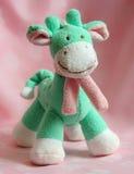 Zachte stuk speelgoed giraf Stock Afbeeldingen