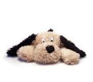 Zachte stuk speelgoed hond Royalty-vrije Stock Afbeelding