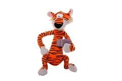 Zachte stuk speelgoed tijger Stock Afbeelding