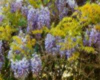Zachte tuin Stock Afbeeldingen