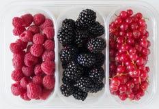 zachte vruchten bes Stock Afbeeldingen