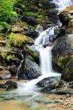 Zachte waterval stock afbeelding