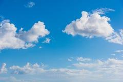 Zachte wolken in de winter royalty-vrije stock afbeeldingen