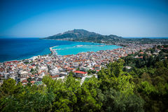 Zacinto (città), Grecia Immagini Stock Libere da Diritti