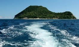 Zacinto - isola della tartaruga Fotografia Stock