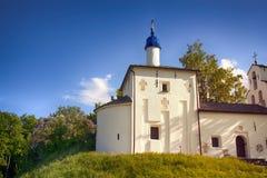 zaciszność i dalecy Ortodoksalni kościół zdjęcie stock