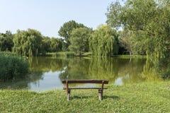 Zaciszność park zdjęcie stock