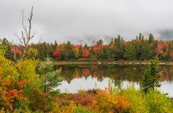 Zaciszność Perełkowy jezioro fotografia stock