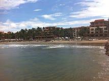 Zaciszność plażowy wakacje obrazy royalty free